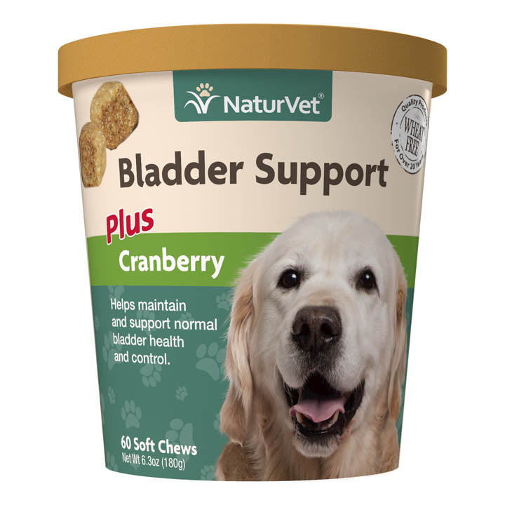 NaturVet Bladder Support Plus Cranberry Dog Soft Chews Supply