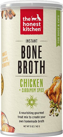 The Honest Kitchen Bone Broth Chicken & Cardamom Grain-Free Dog Food and Cat Food, 5oz.-Le Pup Pet Supplies and Grooming