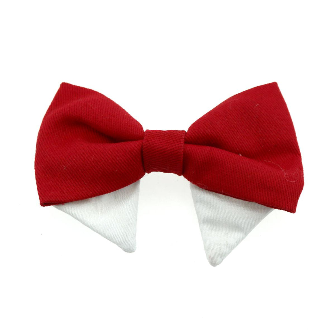 Doggie Design Universal Dog Bow Tie - Solid Red-Le Pup Pet Supplies and Grooming
