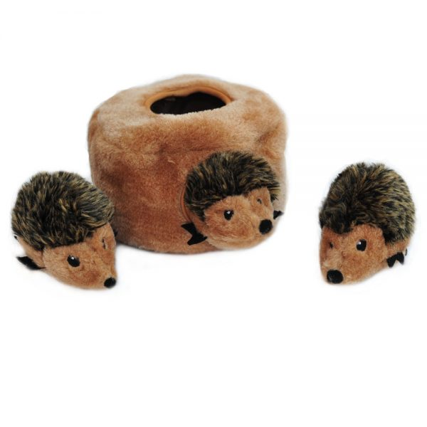 ZippyPaws Zippy Burrow Hedgehog Den Dog Toy-Le Pup Pet Supplies and Grooming