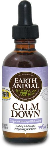 Earth Animal Calm Down Health for Dogs and Cats, 2Fl oz.-Le Pup Pet Supplies and Grooming