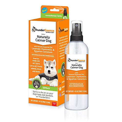 ThunderEssence Naturally Calmer Dog Spray Dog Supply, 4Fl.oz.-Le Pup Pet Supplies and Grooming