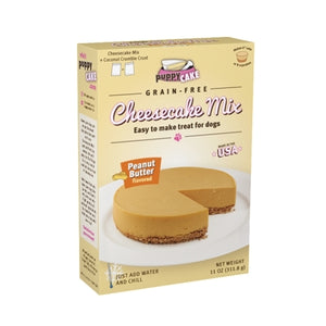 Puppy Cake Grain-Free Cheesecake Mix - Peanut Butter Dog Treat, 11oz.-Le Pup Pet Supplies and Grooming