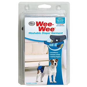 Four Paws Wee-Wee Washable Diaper Garment Dog Supply-Le Pup Pet Supplies and Grooming