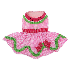 Doggie Design Watermelon Dog Dress-Le Pup Pet Supplies and Grooming