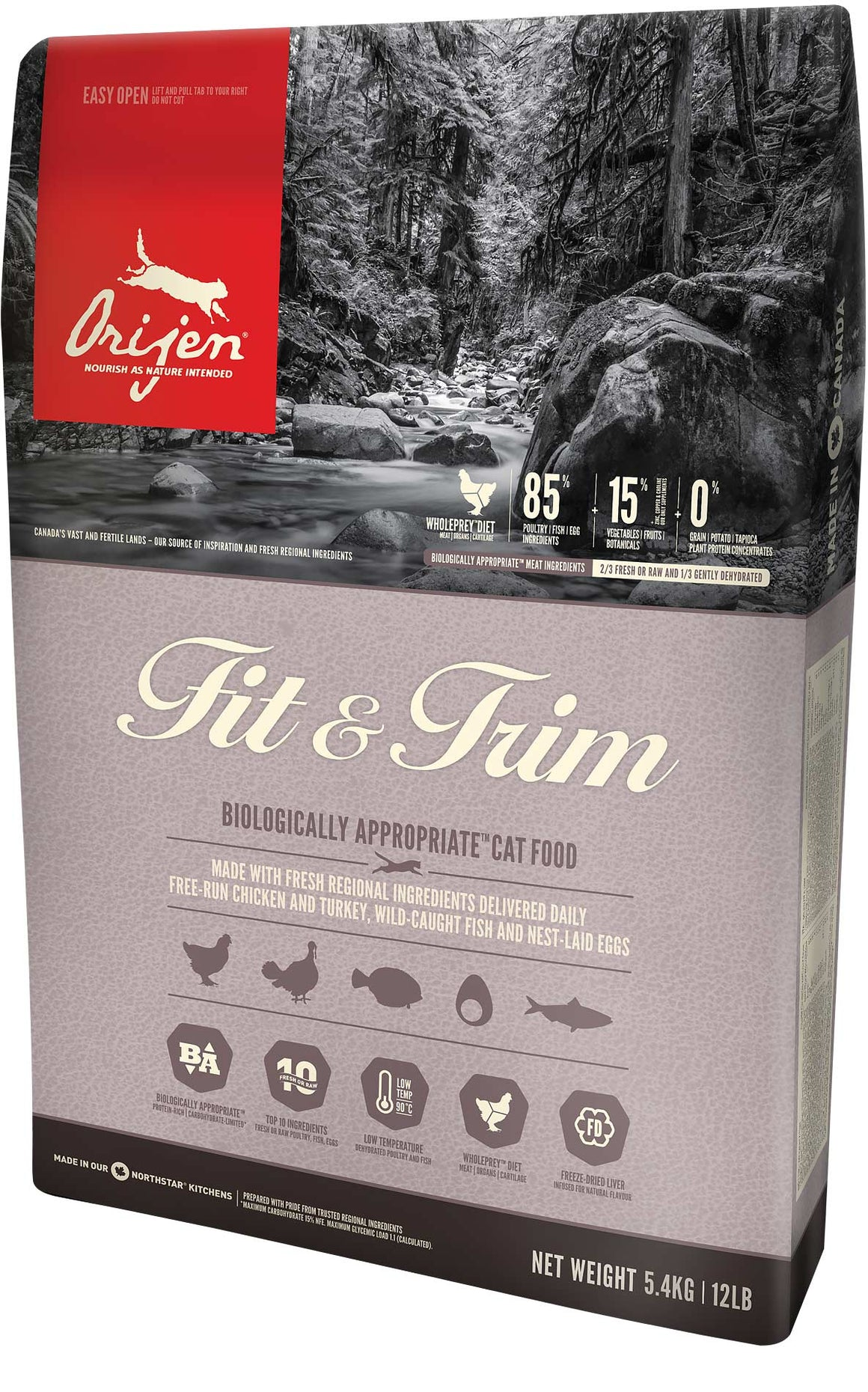 Orijen Fit & Trim Grain-Free Dry Cat Food-Le Pup Pet Supplies and Grooming