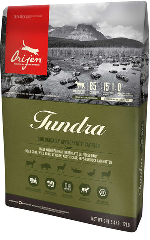 Orijen Tundra Grain-Free Dry Cat Food-Le Pup Pet Supplies and Grooming