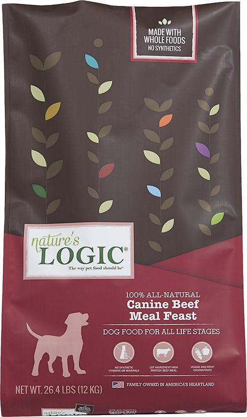 Nature's Logic Canine Beef Feast Dry Kibble Dog Food-Le Pup Pet Supplies and Grooming