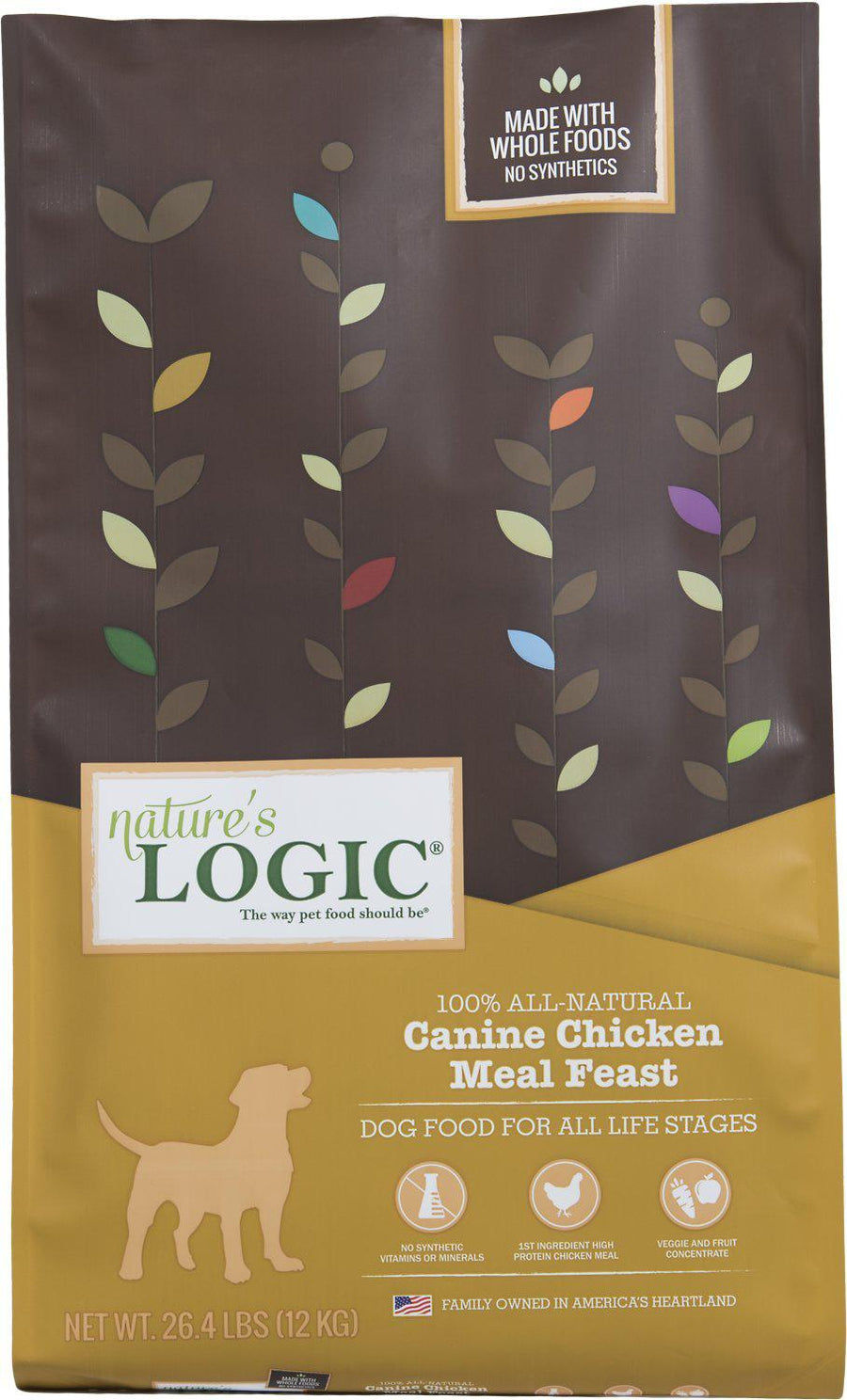 Nature's Logic Canine Chicken Feast Dry Kibble Dog Food-Le Pup Pet Supplies and Grooming