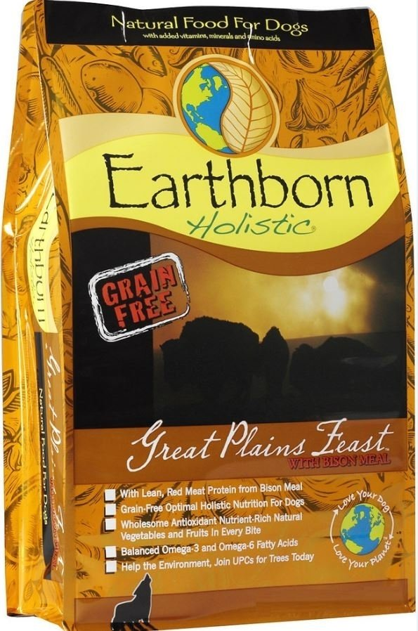 Earthborn Great Plains Feast Grain-Free Dry Dog Food-Le Pup Pet Supplies and Grooming