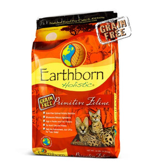 Earthborn Primitive Feline Grain-Free Dry Cat Food-Le Pup Pet Supplies and Grooming