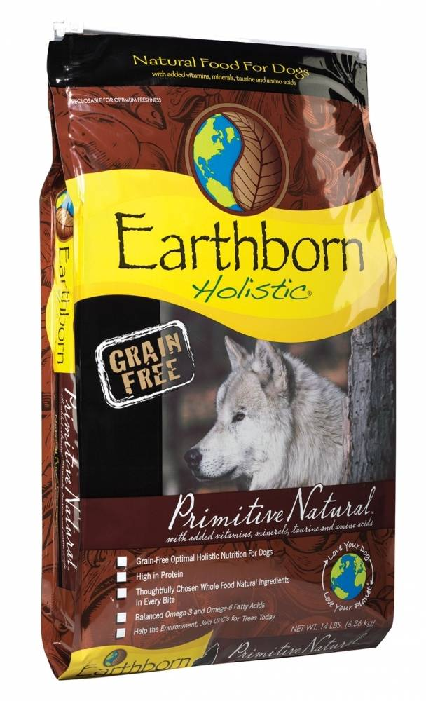 Earthborn Primitive Natural Grain-Free Dry Dog Food-Le Pup Pet Supplies and Grooming