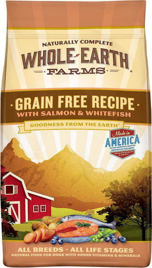Whole Earth Farms Grain-Free Salmon & Lamb Dry Dog Food-Le Pup Pet Supplies and Grooming