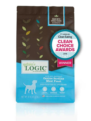Nature's Logic Canine Sardine Feast Grain-Free Dry Kibble Dog Food-Le Pup Pet Supplies and Grooming