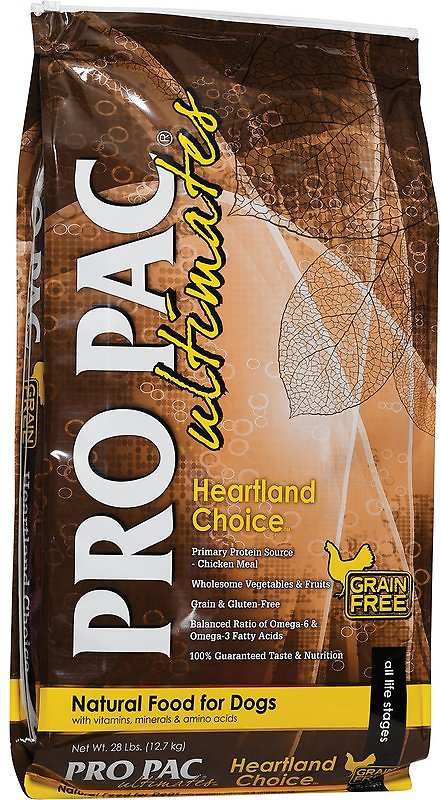 Pro Pac Ultimates Heartland Choice Grain-Free Dry Dog Food-Le Pup Pet Supplies and Grooming