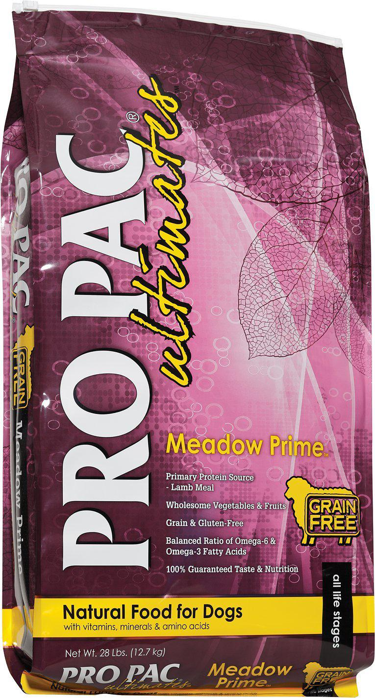 Pro Pac Ultimates Meadow Prime Grain-Free Dry Dog Food-Le Pup Pet Supplies and Grooming