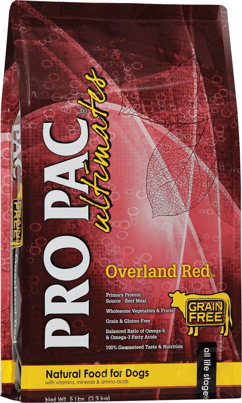 Pro Pac Ultimates Overland Red Grain-Free Dry Dog Food-Le Pup Pet Supplies and Grooming