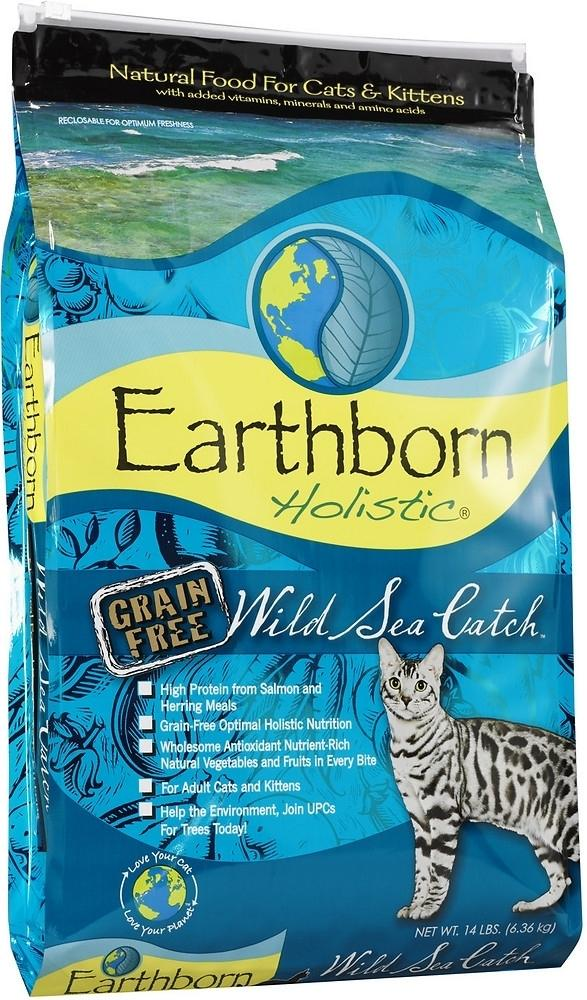 Earthborn Wild Sea Catch Grain-Free Dry Cat Food-Le Pup Pet Supplies and Grooming