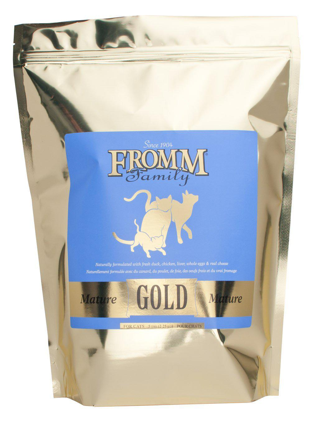 Fromm Gold Mature Dry Cat Food-Le Pup Pet Supplies and Grooming