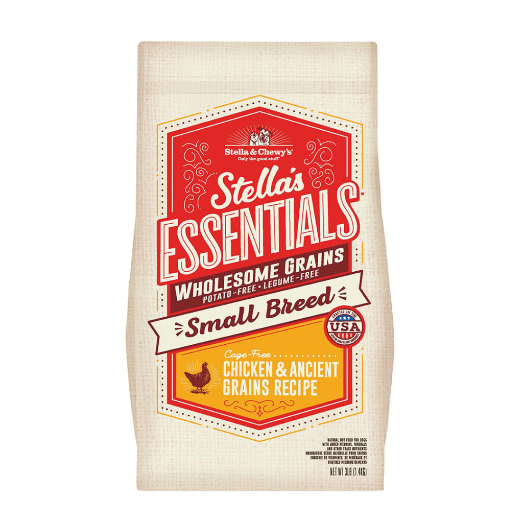 Stella & Chewy's Essentials Small Breed Wholesome Grains Chicken & Ancient Grains Recipe Dog Food