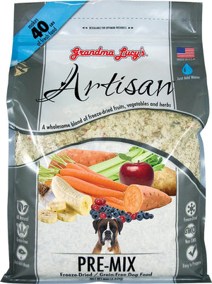 Grandma Lucy's Artisan Pre-Mix Grain-Free Freeze-Dried Dog Food-Le Pup Pet Supplies and Grooming