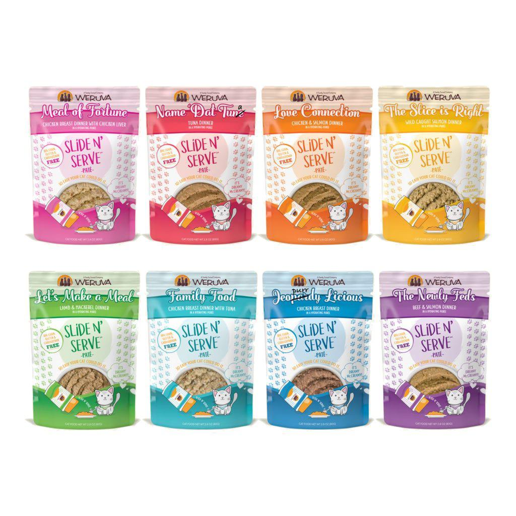 Weruva The Showcase Chowdown Grain Free Variety Pk Wet Cat Food Le Pup Pet Supplies And Grooming