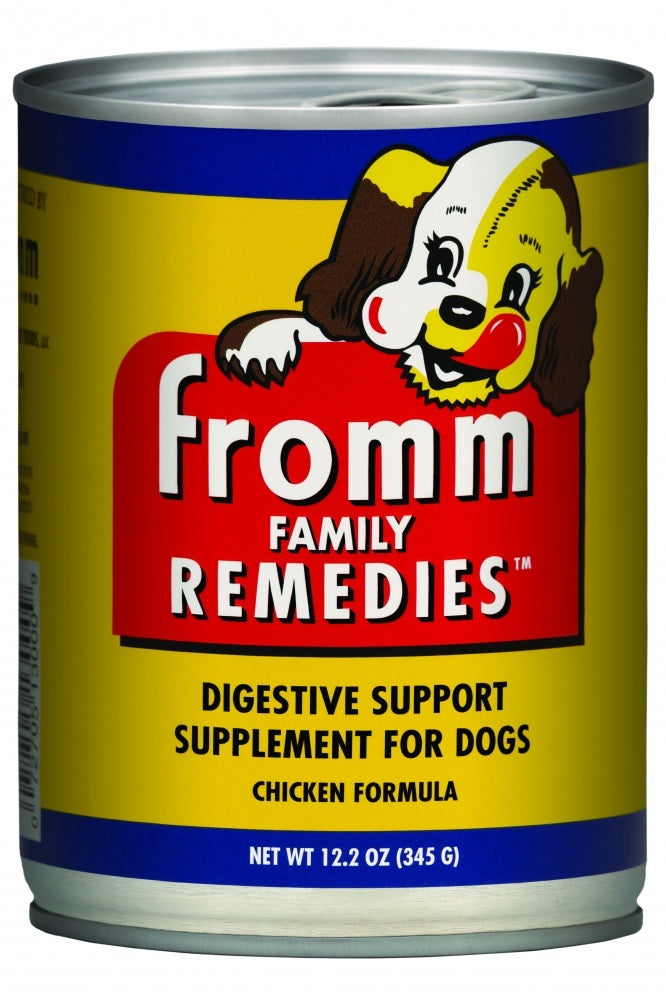 Fromm Family Remedies Chicken Recipe Digestive Support Supplement for Dogs -  Wet Dog Food