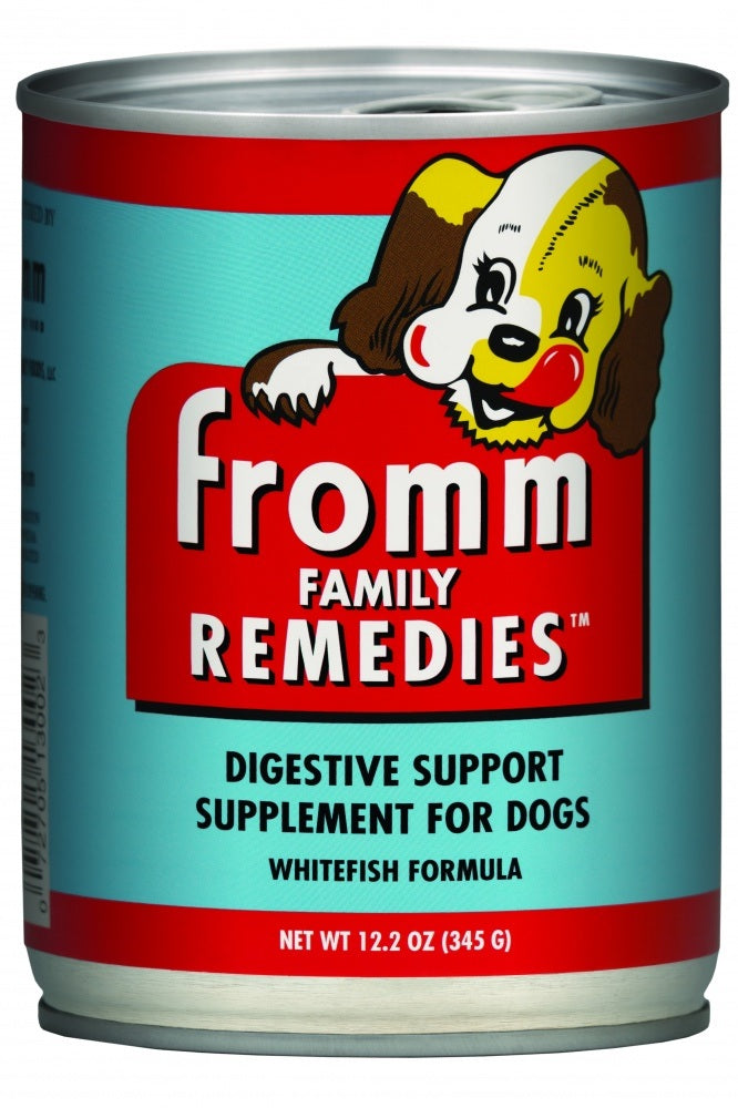 Fromm Family Remedies Whitefish Recipe Digestive Support Supplement for Dogs -  Wet Dog Food