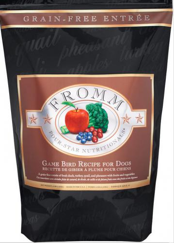 Fromm Four-Star Nutritionals Grain-Free Game Bird Recipe Dry Dog Food-Le Pup Pet Supplies and Grooming
