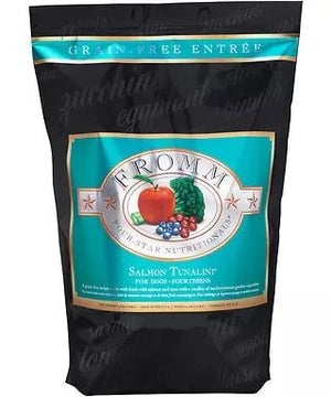 Fromm Four-Star Nutritionals Grain-Free Salmon Tunalini Dry Dog Food-Le Pup Pet Supplies and Grooming