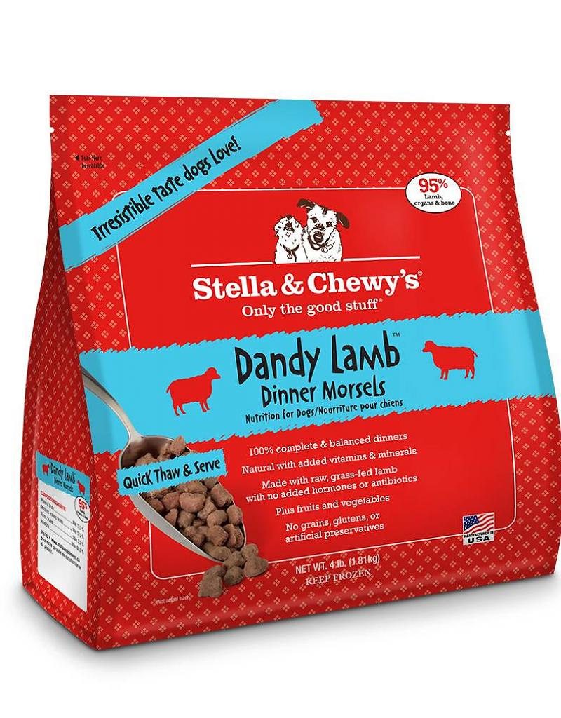 Stella & Chewy's Dandy Lamb Grain-Free Frozen Raw Dinner Morsels Dog Food-Le Pup Pet Supplies and Grooming