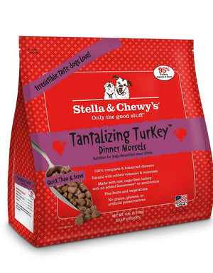 Stella & Chewy's Tantalizing Turkey Grain-Free Frozen Raw Dinner Morsels Dog Food-Le Pup Pet Supplies and Grooming