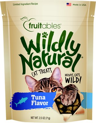 Fruitables Wildly Natural Tuna Flavor Cat Treats-Le Pup Pet Supplies and Grooming