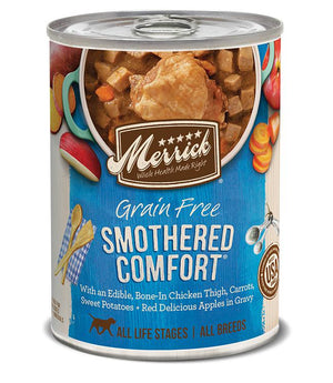 Merrick Smothered Comfort Grain Free Canned Dog Food-Le Pup Pet Supplies and Grooming