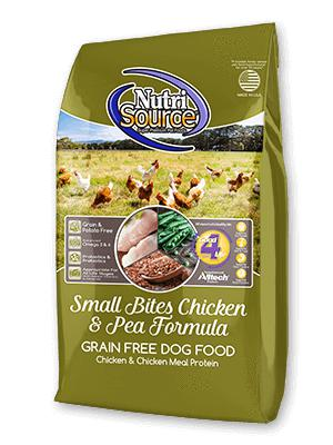 NutriSource Small Breed Bites Chicken & Pea Grain-Free Dry Dog Food-Le Pup Pet Supplies and Grooming