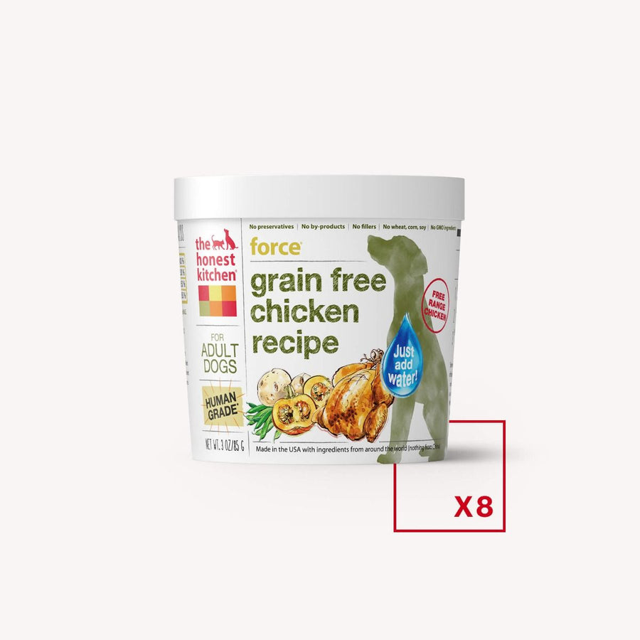 The Honest Kitchen Grain Free Chicken Recipe Force Dehydrated Dog Food-Le Pup Pet Supplies and Grooming
