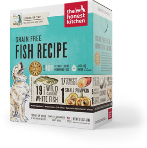 The Honest Kitchen Grain Free Fish Recipe Zeal Dehydrated Dog Food-Le Pup Pet Supplies and Grooming