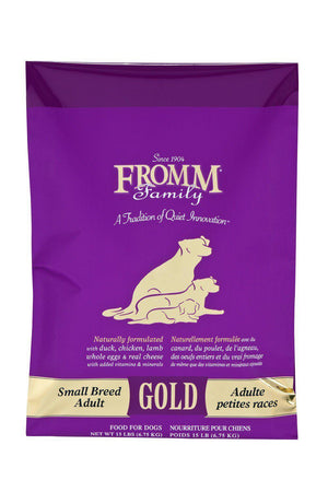 Fromm Dog Food - Gold Small Breed Adult-Le Pup Pet Supplies and Grooming