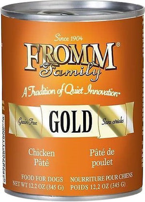 Fromm Gold Grain-Free Chicken Pâté Wet Dog Food-Le Pup Pet Supplies and Grooming