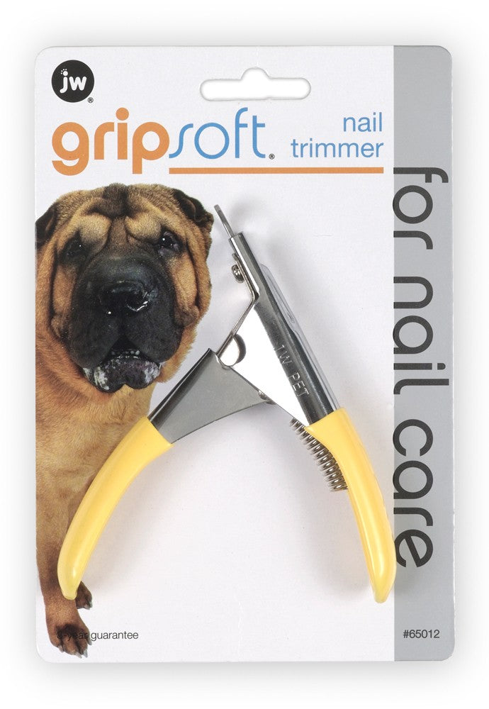 JW GripSoft Nail Trimmer Dog and Cat Supply-Le Pup Pet Supplies and Grooming