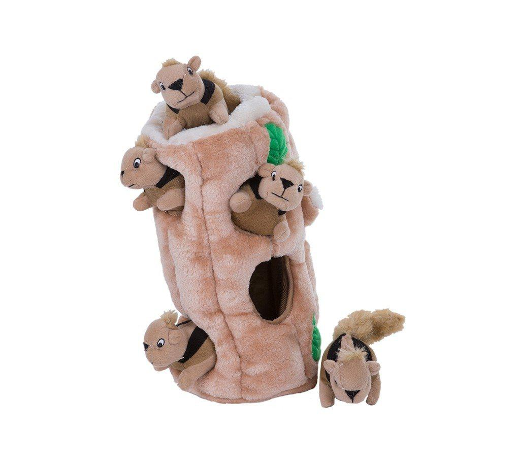 Outward Hound Hide A Squirrel Dog Toy-Le Pup Pet Supplies and Grooming