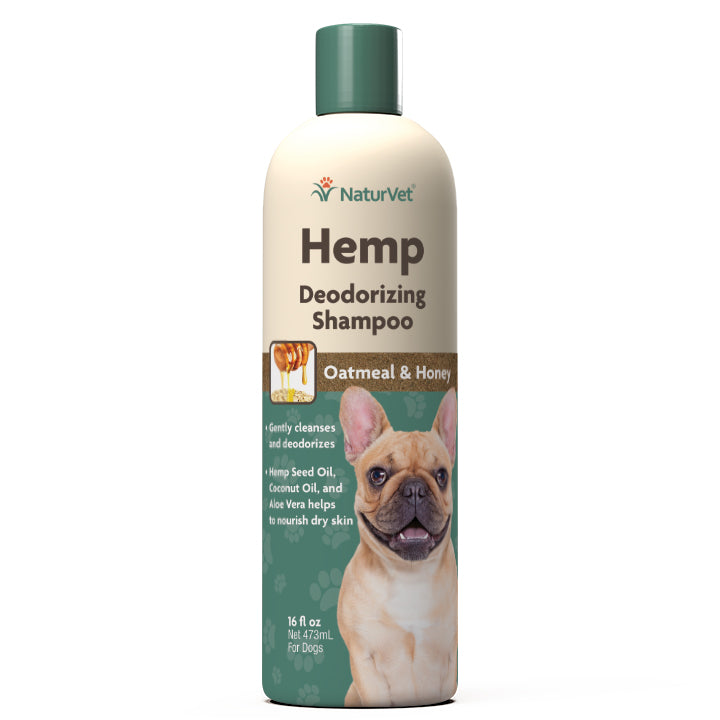 NaturVet Hemp Deodorizing Shampoo 16fl.oz Dog Supply-Le Pup Pet Supplies and Grooming