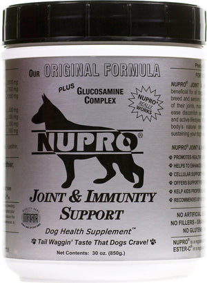 Nupro Joint & Immunity Support Plus Glucosamine Supplement (Silver Label) Dog Supply-Le Pup Pet Supplies and Grooming