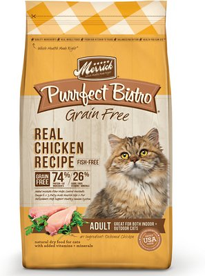 Merrick Purrfect Bistro Grain Free Real Chicken Recipe Dry Cat Food-Le Pup Pet Supplies and Grooming