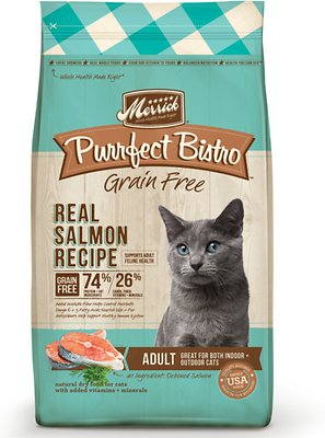 Merrick Purrfect Bistro Grain Free Real Salmon Recipe Dry Cat Food-Le Pup Pet Supplies and Grooming