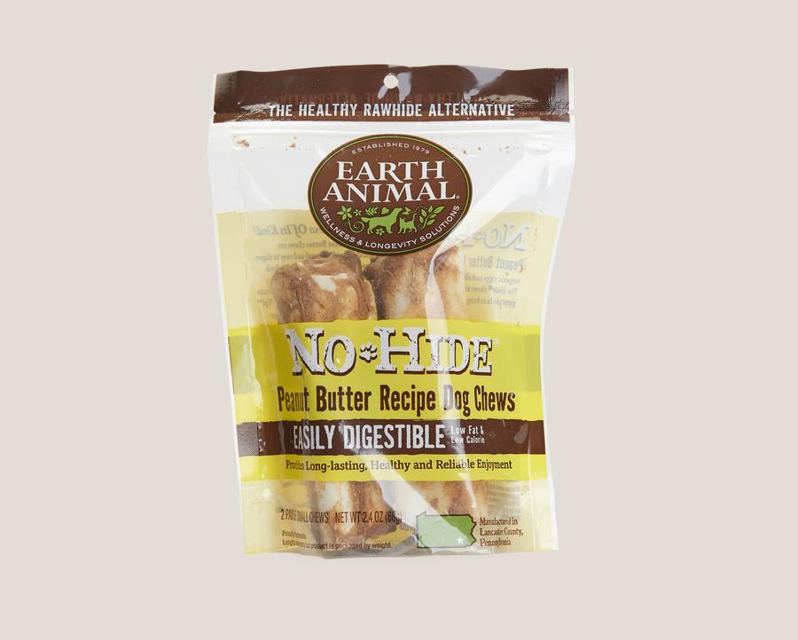 Earth Animal No-Hide Peanut Butter Chews Dogs Treats