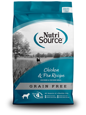 NutriSource Chicken & Pea Formula Grain-Free Dry Dog Food