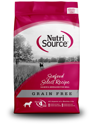NutriSource Seafood Select Grain-Free Dry Dog Food