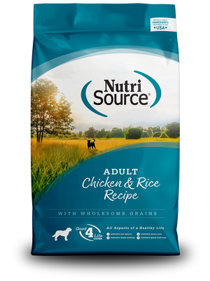 NutriSource Adult Chicken & Rice Formula Dry Dog Food