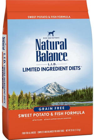 Natural Balance Limited Ingredient Diets Sweet Potato & Fish Grain-Free Dry Dog Food-Le Pup Pet Supplies and Grooming